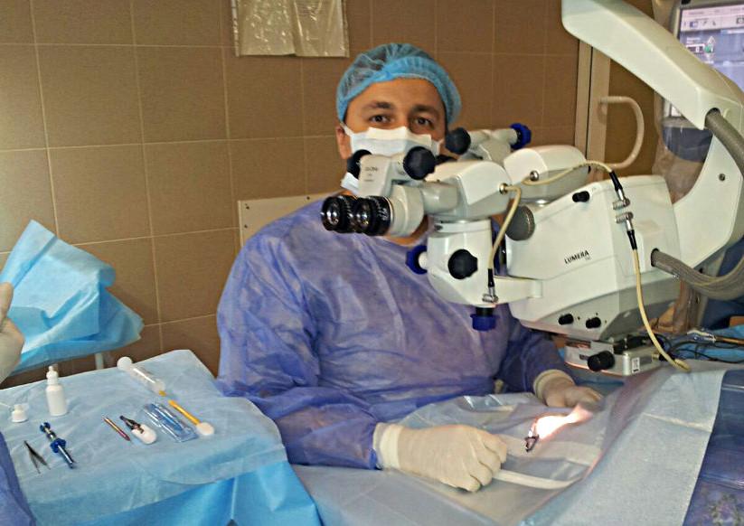 Как сделать операцию на катаракту 461
